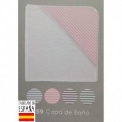 Capa baño rayas - Babidú - BDV-859