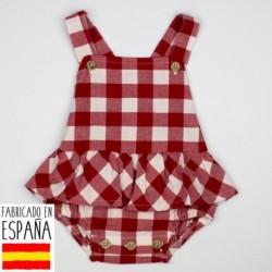 Vestido ranita cuadros - Babidú - BDV-33404