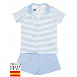 Pijama niño m/c cuello bebe - Babidú - BDV-73286-1
