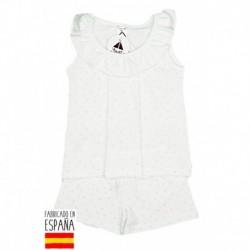 Pijama niña tirante c.volante star - Babidú - BDV-74285-2