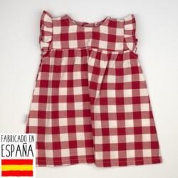 Vestido cuadros - Babidú - BDV-90404