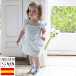Vestido chambray liso - Babidú - BDV-91120