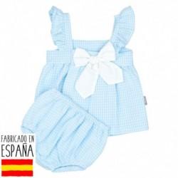 Vestido vichy - Babidú - BDV-90484-1