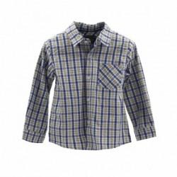 Camisa manga larga popelin