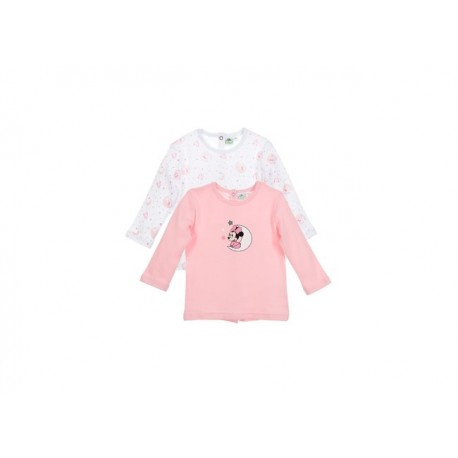 TMBB-AQE0484 proveedor ropa de niñas Lote 2 camisetas 100%