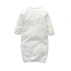 Pijama manga larga tipo saco (no incluye gorro)-ALM-C-M58518-NOG