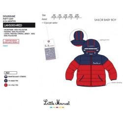 TMBB-LMHS0004RED mayorista de ropa infantil abrigos de niño