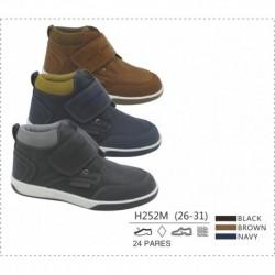 Calzado estilo casual cierre velcro-DKI-H252M-Double King