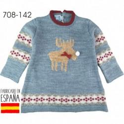 PCI-708-142 fabricantes de ropa de bebé Vestido manga larga