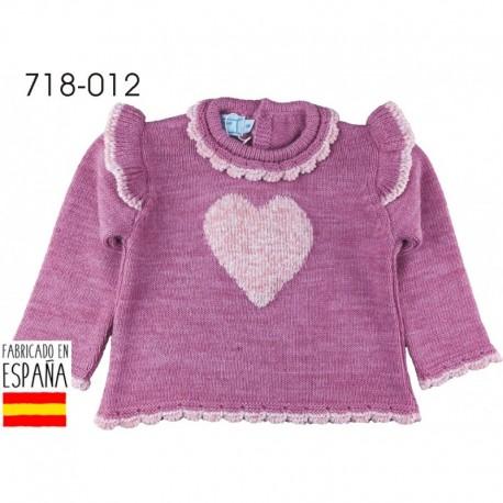 Jersey cuello redondo corazón - Pecesa - PCI-718-012