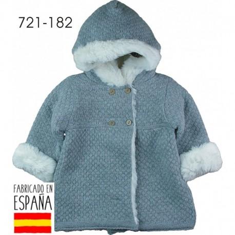 Abrigo con capucha interior pelo - Pecesa - PCI-721-182