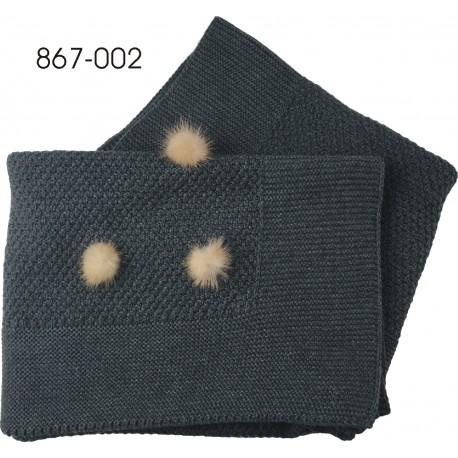 Mantita pompones - Pecesa - PCI-867-002