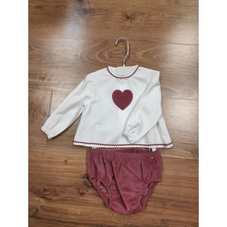 Comprar ropa de niño online Jesusito manga larga fabricado en