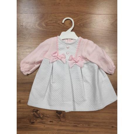 Comprar ropa de niño online Vestido combinado manga larga