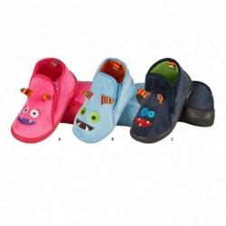 Zapatillas estar por casa 'Mostruos'