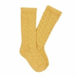 Calcetines altos calado crochet - Condor - CONI-2593/2