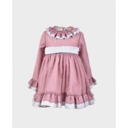 Vestido niña pequeño-LOI-1010073006-La Ormiga