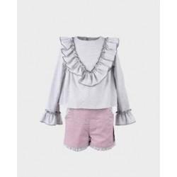 LOI-1010263021 La Ormiga ropa infnatil al por mayor Conjunto
