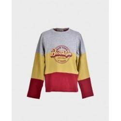 Camiseta niño mostaza brooklyn-LOI-1011064603-La Ormiga