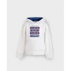 Sudadera niño blanca america-LOI-1011160302-La Ormiga