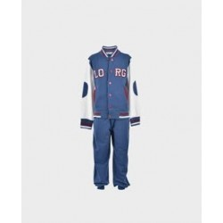 Chandal niño beisbolera dos pantalones marino / burdeos-LOI-1011210602-La Ormiga