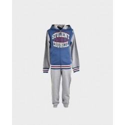 Chandal niño dos pantalones marino / gris-LOI-1011210603-La Ormiga