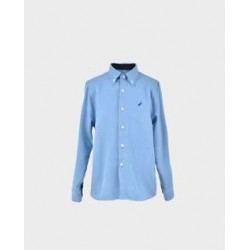 Camisa niño azafata coderas marino col. 31-LOI-1012031401-La Ormiga