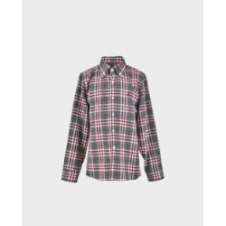 Camisa niño cuadros grises / burdeos col. 24-LOI-1012162901-La Ormiga