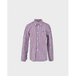 Camisa niño cuadros vichy fucsia / marino-LOI-1012190301-La Ormiga