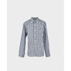 Camisa niño cuadros vichy verde / marino-LOI-1012200301-La Ormiga