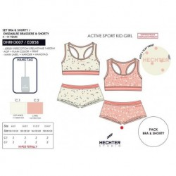 SCFI-DHRH3007 proveedor ropa niños y niñas Conjunto