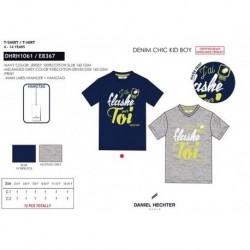 TMBB-DHRH1061 proveedor ropa niños y niñas Camiseta manga