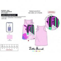Camiseta tirantes 95%algodon/5%ea-SCFI-LMSE1010PINK-LITTLE MAR