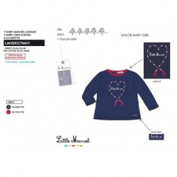 Camiseta manga larga 95%algodon/5% ea-SCFI-LMHS0027NAVY-LITTLE MAR