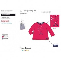 TMBB-LMHS0027PINK1 proveedor ropa de niñas Camiseta manga