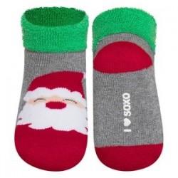 Calcetines bebé Papá Noel