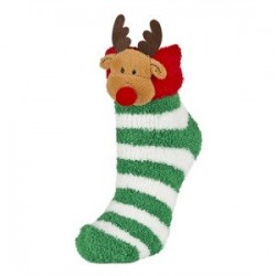 Calcetines Chenilla colección de Navidad - Soxo - SXV-69848