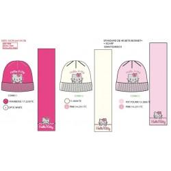 Set 2 piezas gorro + bufanda Hello Kitty