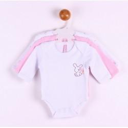 TMBB-BGI10358 proveedor ropa de bebé Pack 3 bodies manga