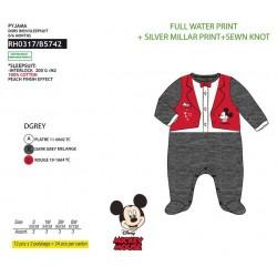 Pijama tipo pelele Mickey