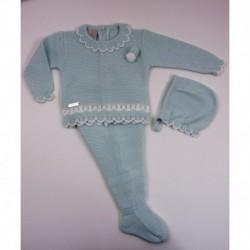 PBI-2001-Verde/Mezcla fabricantes de ropa de bebe Conjunto 3