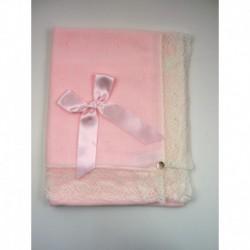 PBI-2070-Rosa/Crudo fabricantes de ropa de bebe gorros y
