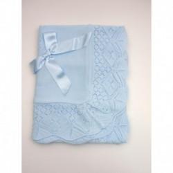 PBI-2077-Celeste fabricantes de ropa de bebe gorros y bufandas