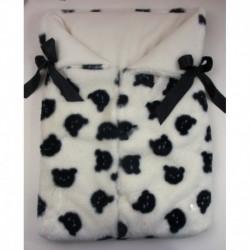 PBI-2083-Negro fabricantes de ropa de bebe gorros y bufandas