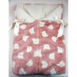 PBI-2083-Rosa fabricantes de ropa de bebe gorros y bufandas
