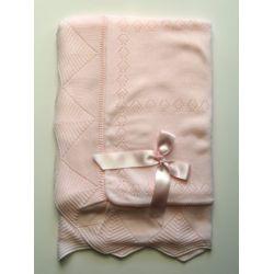 PBI-6166-Rosa fabricantes de ropa de bebe gorros y bufandas