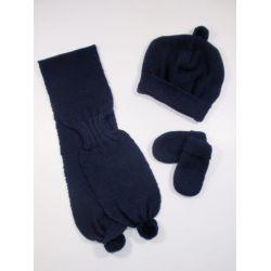 PBI-6183-Marino fabricantes de ropa de bebe gorros y bfandas