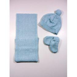 PBI-6184-Celeste Mezcla fabricantes de ropa de bebe gorros y