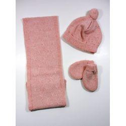 PBI-6184-Rosa Mezcla fabricantes de ropa de bebe gorros y