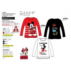 Camiseta ml 100%algodon-SCI-HS1213-MINNIE